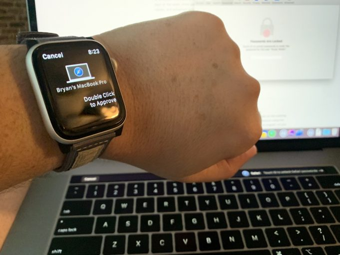 Approva con Apple Watch guida