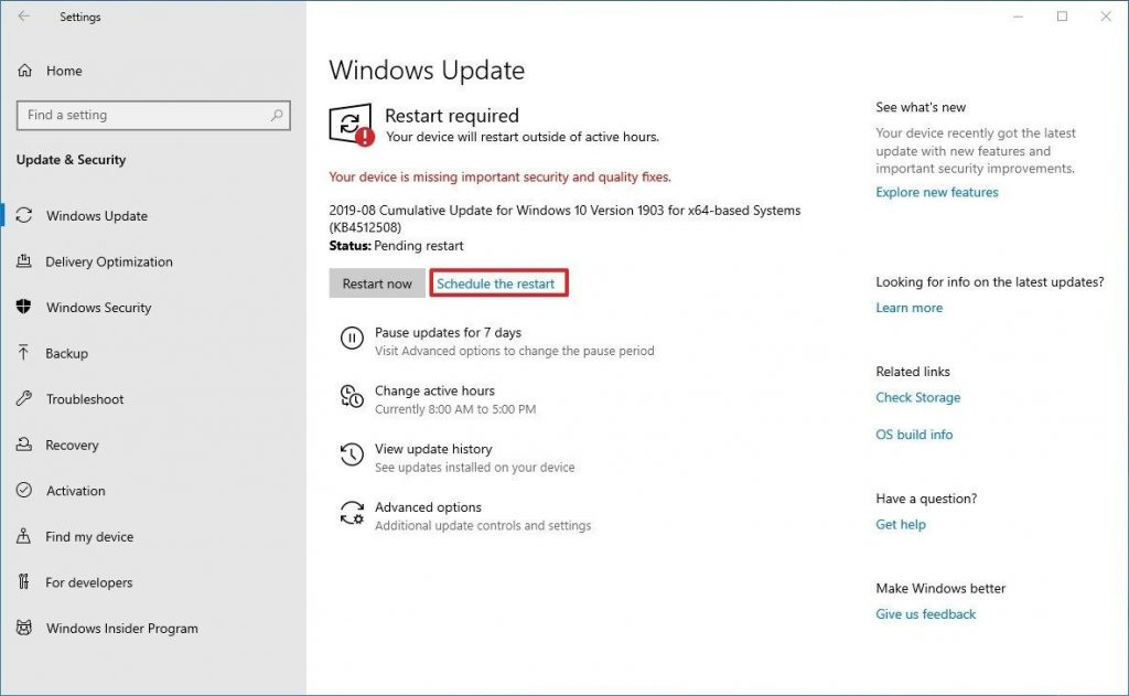 Come bloccare gli aggiornamenti di Windows 10 Windows update