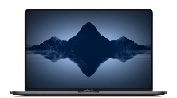 Macbook pro 16 layout touch bar 4