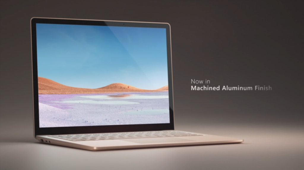 Microsoft Surface Laptop 3 Alluminio