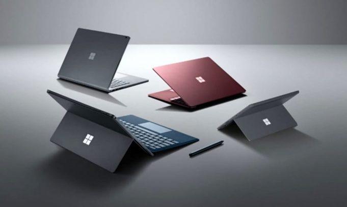 Microsoft Surface Pro 6 e Surface Laptop 2