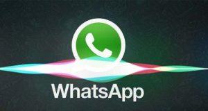 Siri inviare messaggi WhatsApp