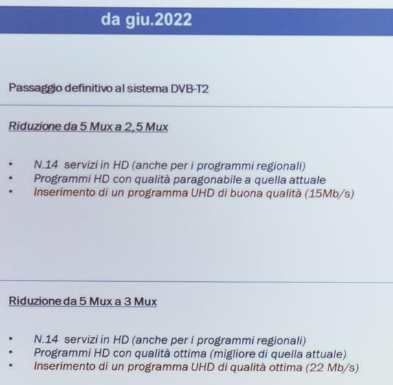 Passaggio definitivo al DVB-T2