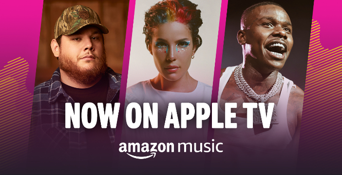 Amazon Music: arriva l'app per dispositivi Apple TV