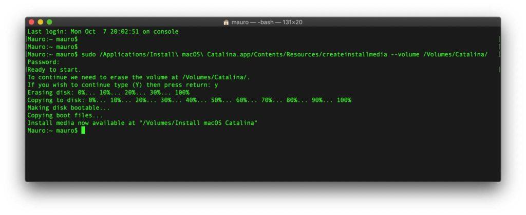 Come creare una chiavetta USB per installare macOS da zero