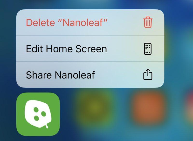 iOS 13.2 beta 2 cancellazione app schermata principale
