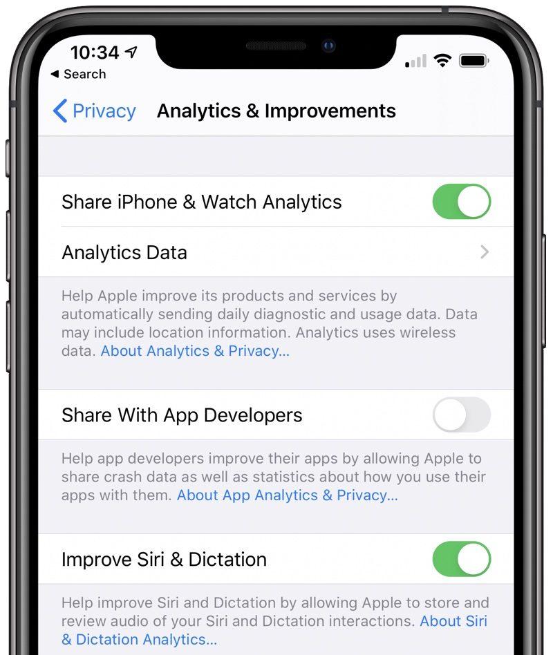 iOS 13.2 beta 2 impostazioni siri