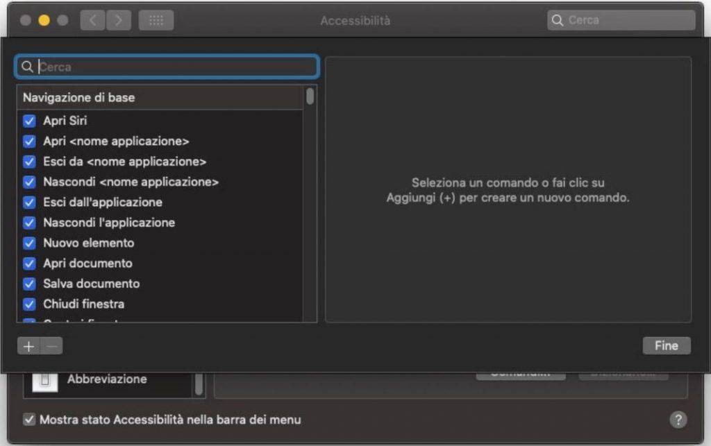 macOS Catalina: come controllare il Mac con i comandi vocali