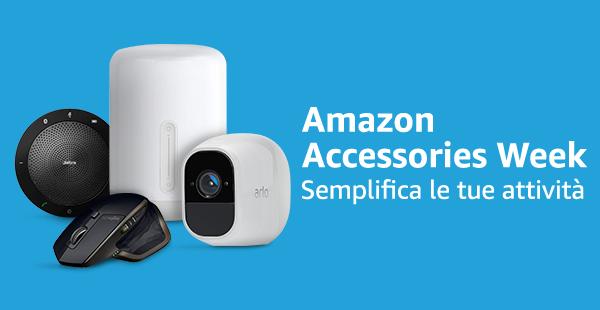 Offerte Amazon della settimana: tanti sconti su accessori per la Accessories Week e sulle luci smart Philips Hue 2