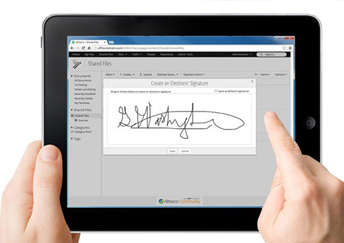 Signeasy mobility partner ufficiale Apple