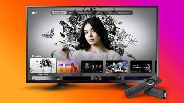 Apple TV disponibile su Amazon Fire TV Stick