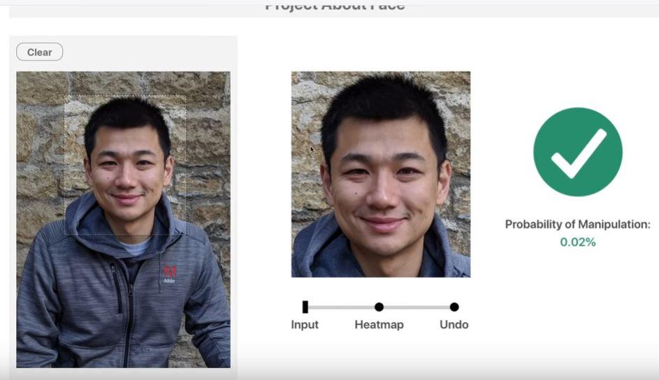 Adobe about face nessun ritocco