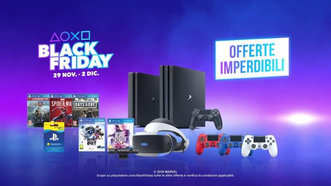 Black Friday PlayStation su Euronics