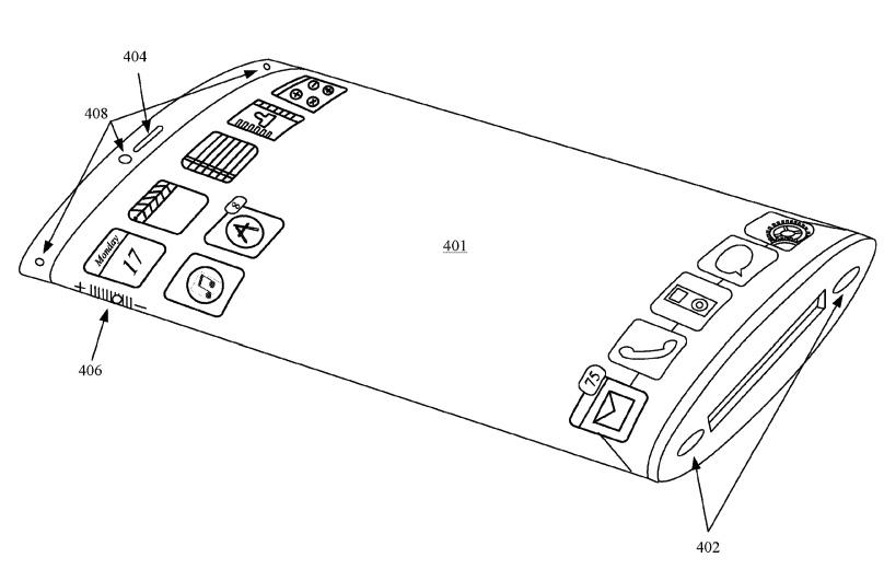 """Possiamo sognare: Apple ha aggiornato il brevetto per un display iPhone """"a tutto tondo"""" 1"""