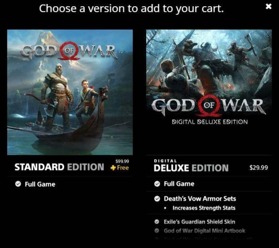 God of War potrebbe essere uno dei giochi gratuiti PS Plus a dicembre 1