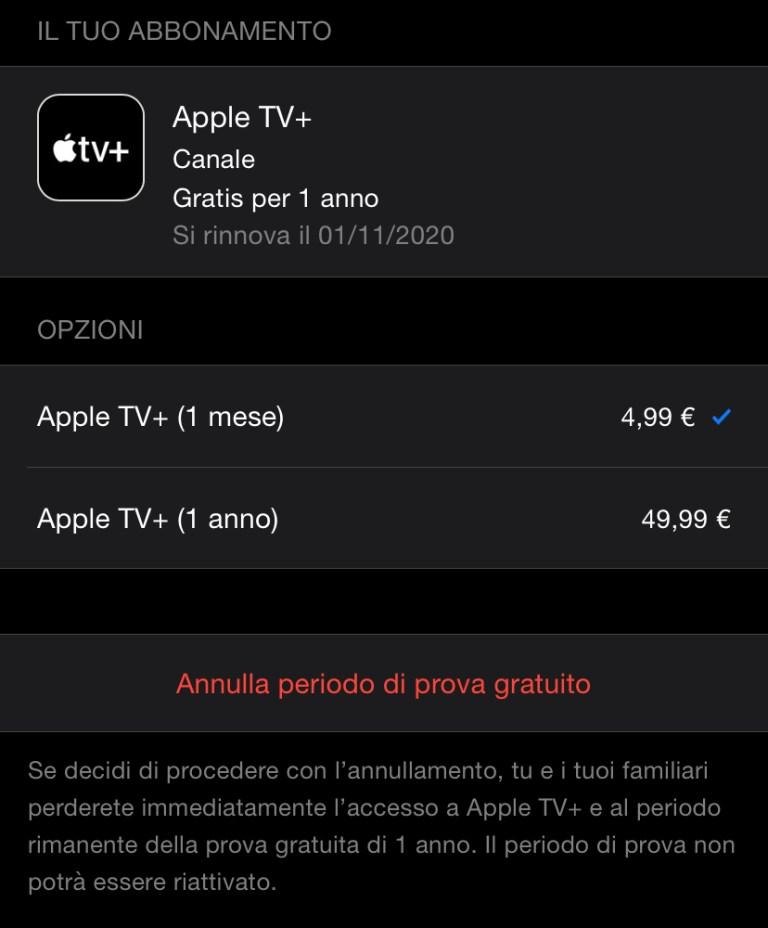 Come attivare l'abbonamento gratuito a Apple TV+ e cosa fare in caso di problemi 3