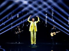 Vodafone 5G ologramma a X Factor di Gianna Nannini