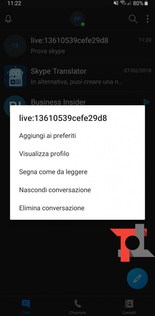 Skype conversazioni tradotte