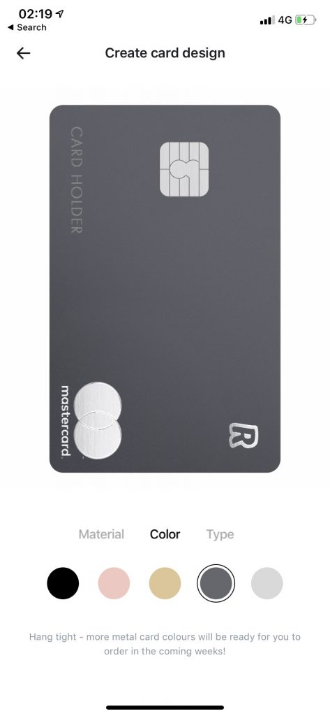 Le carte Revolut Metal ora sono disponibili nei colori Silver e Space Grey 2