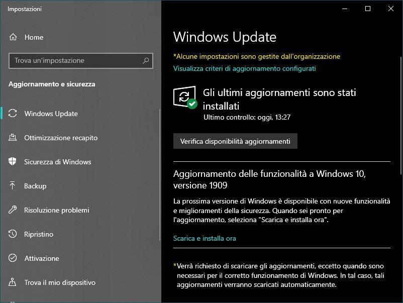 L'aggiornamento Windows 10 November 2019 causa problemi nel File Explorer 1