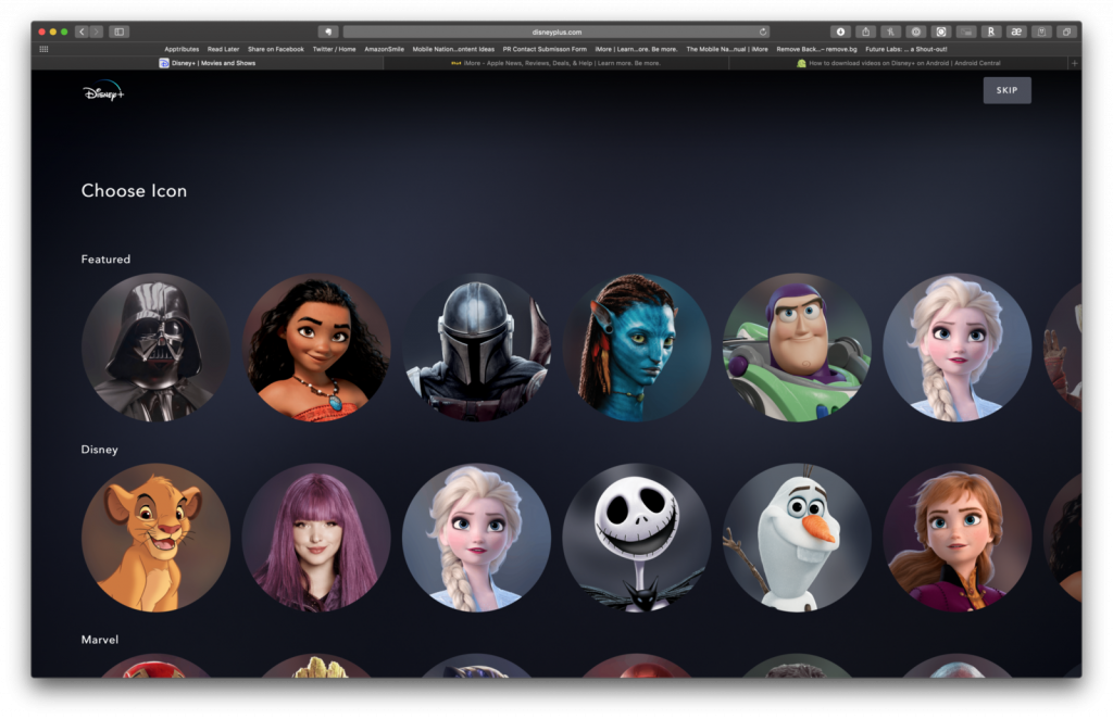 Come creare profili utente su Disney+