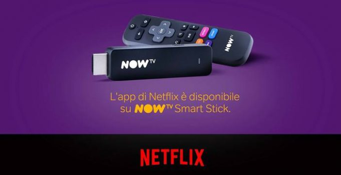 Come installare Netflix su NOW TV Smart Stick e TV BOX