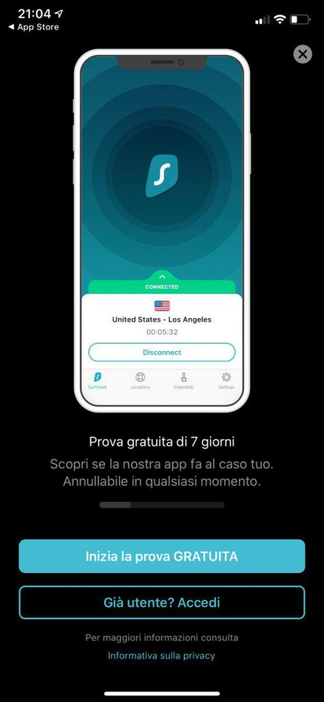 Come installare Surfshark su Android e iPhone/iPad 2