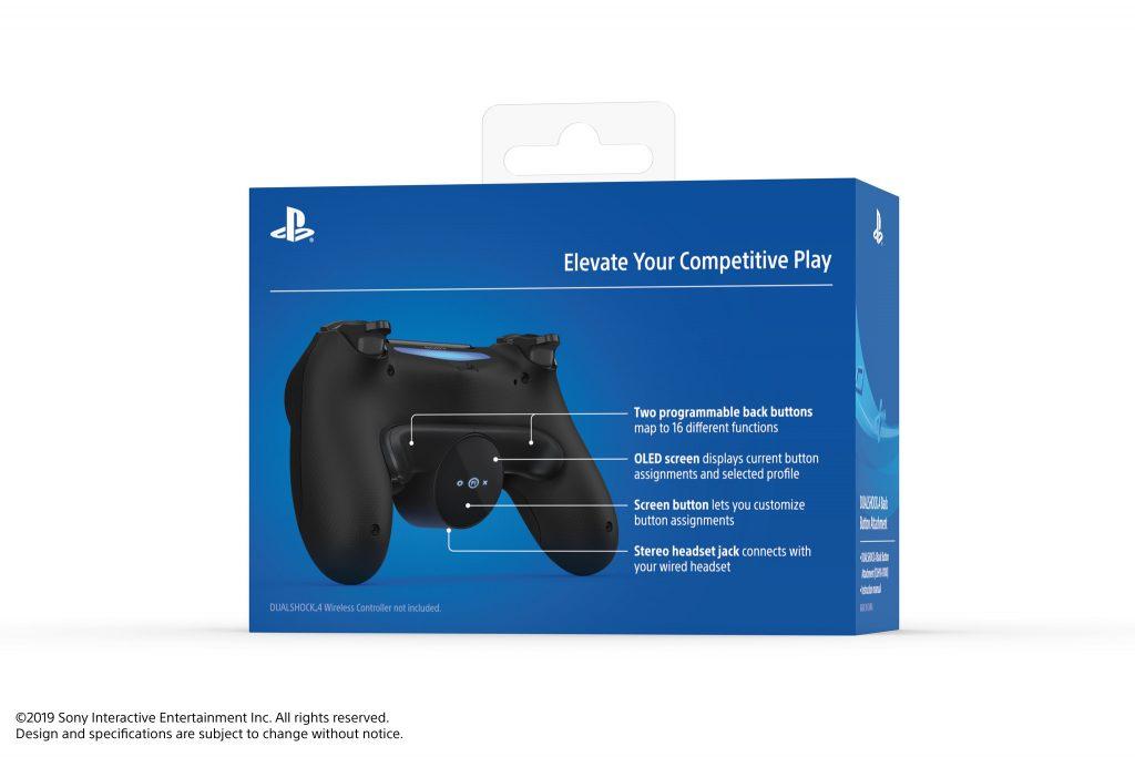 Sony introduce il modulo DualShock 4 Back Button per tutti i modelli di controller compatibili 5
