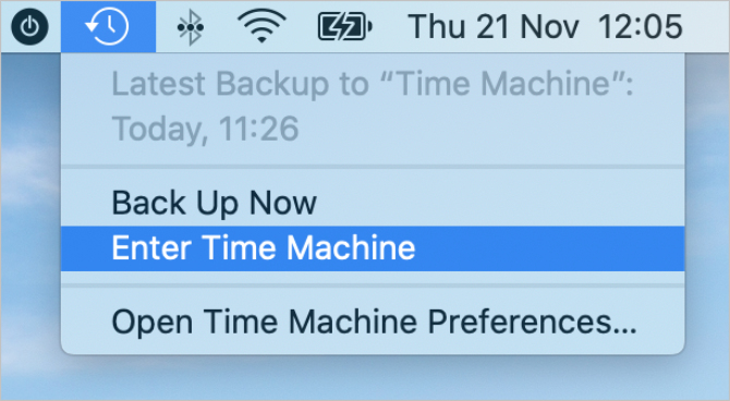 Come ripristinare i dati sul Mac con Time Machine