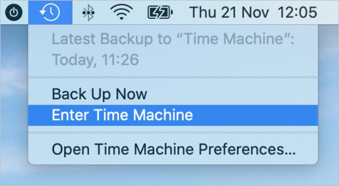 Come ripristinare i dati sul Mac con Time Machine