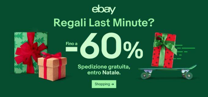 Ecco le migliori occasioni eBay per i regali last minute