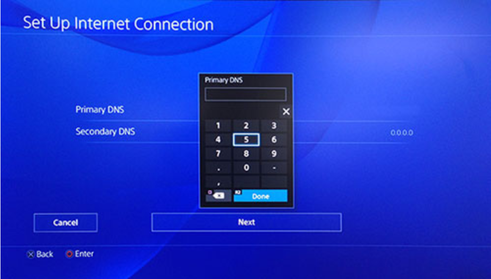 Come impostare i DNS smart di Surfshark su PlayStation 4
