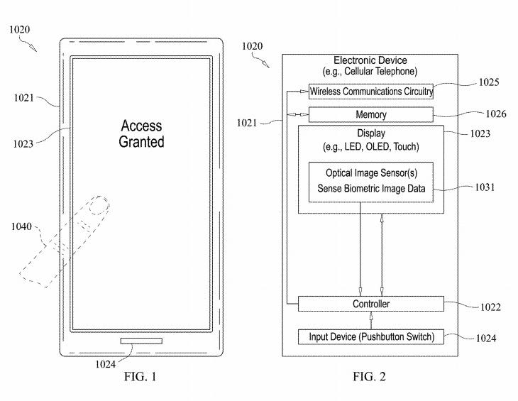 iPhone 12 in arrivo con Touch ID sotto il display? Sì, secondo questo brevetto 1