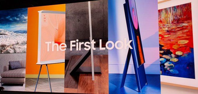 Samsung al CES 2020 presenta TV 8K ed The Sero, la TV verticale