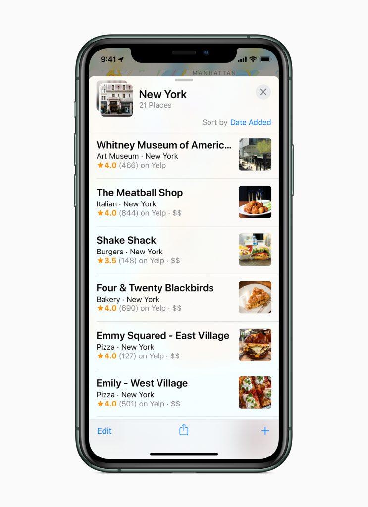 Apple lancia la nuova app Mappe completamente ridisegnata 3