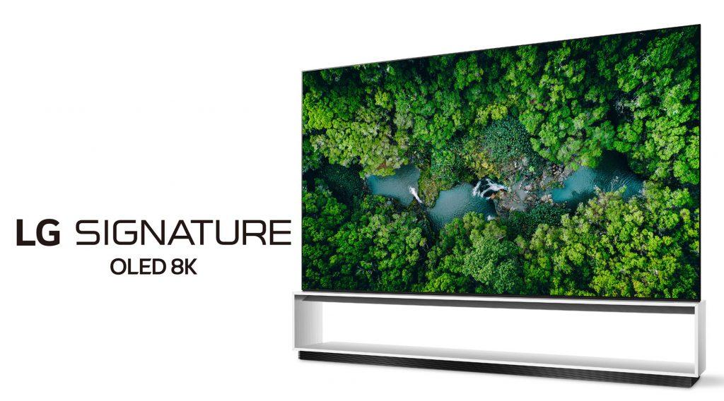 LG presenta la sua gamma di TV 8K al CES 2020