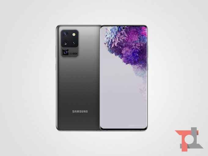 Samsung Galaxy S20 Ultra trapelato