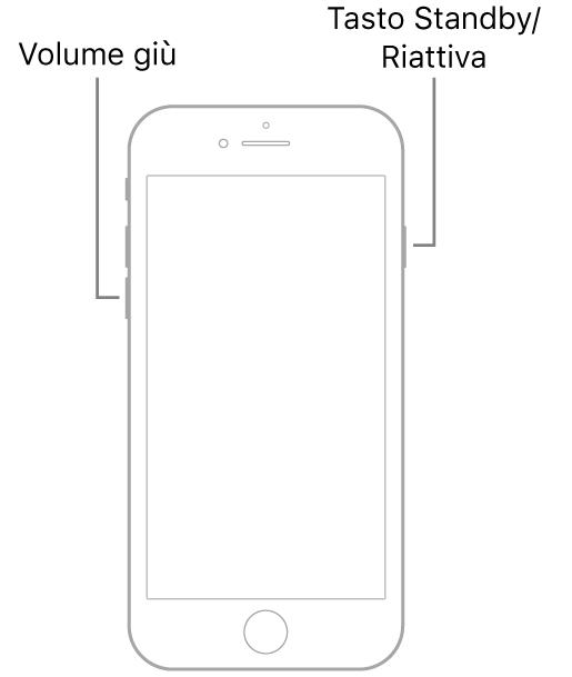 come forzare il riavvio iPhone