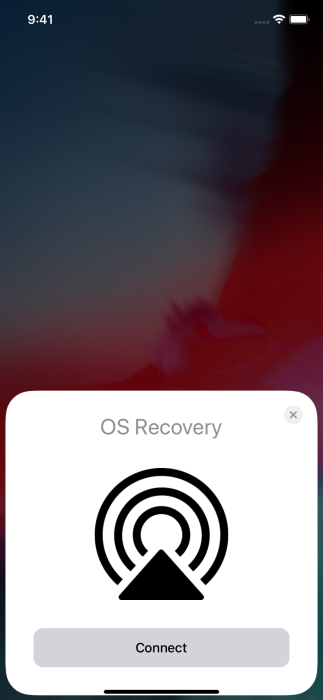 OS Recovery-iOS