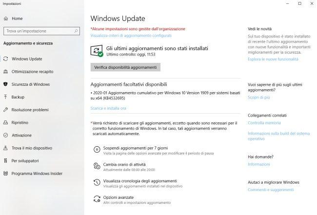 Evitate questo aggiornamento di Windows 10, potrebbe bloccarvi il computer 1