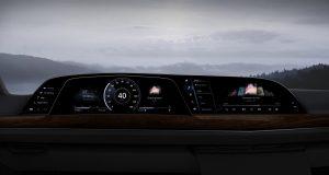 Il primo cruscotto P-OLED di LG sarà sulla Cadillac Escalade