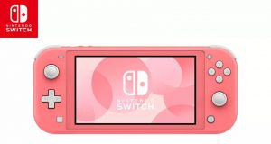 Nintendo Switch Lite corallo