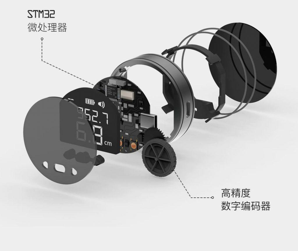Guardate l'ultima idea dal mondo Xiaomi: un metro digitale tuttofare 3