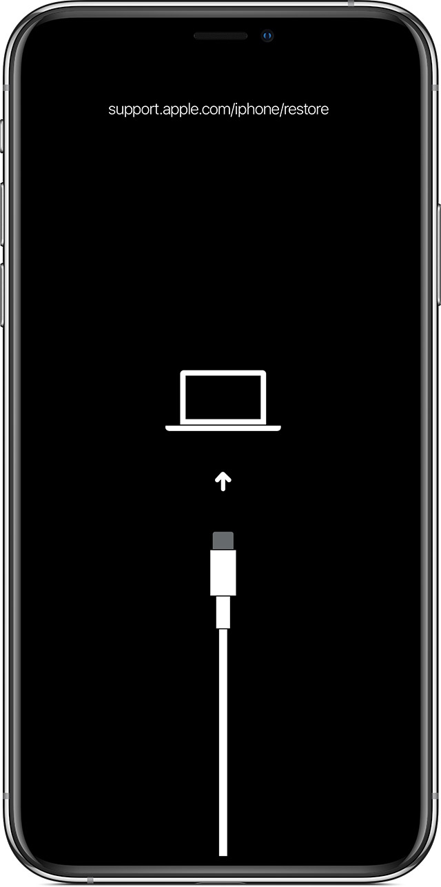 Riavvio forzato iPhone recupero