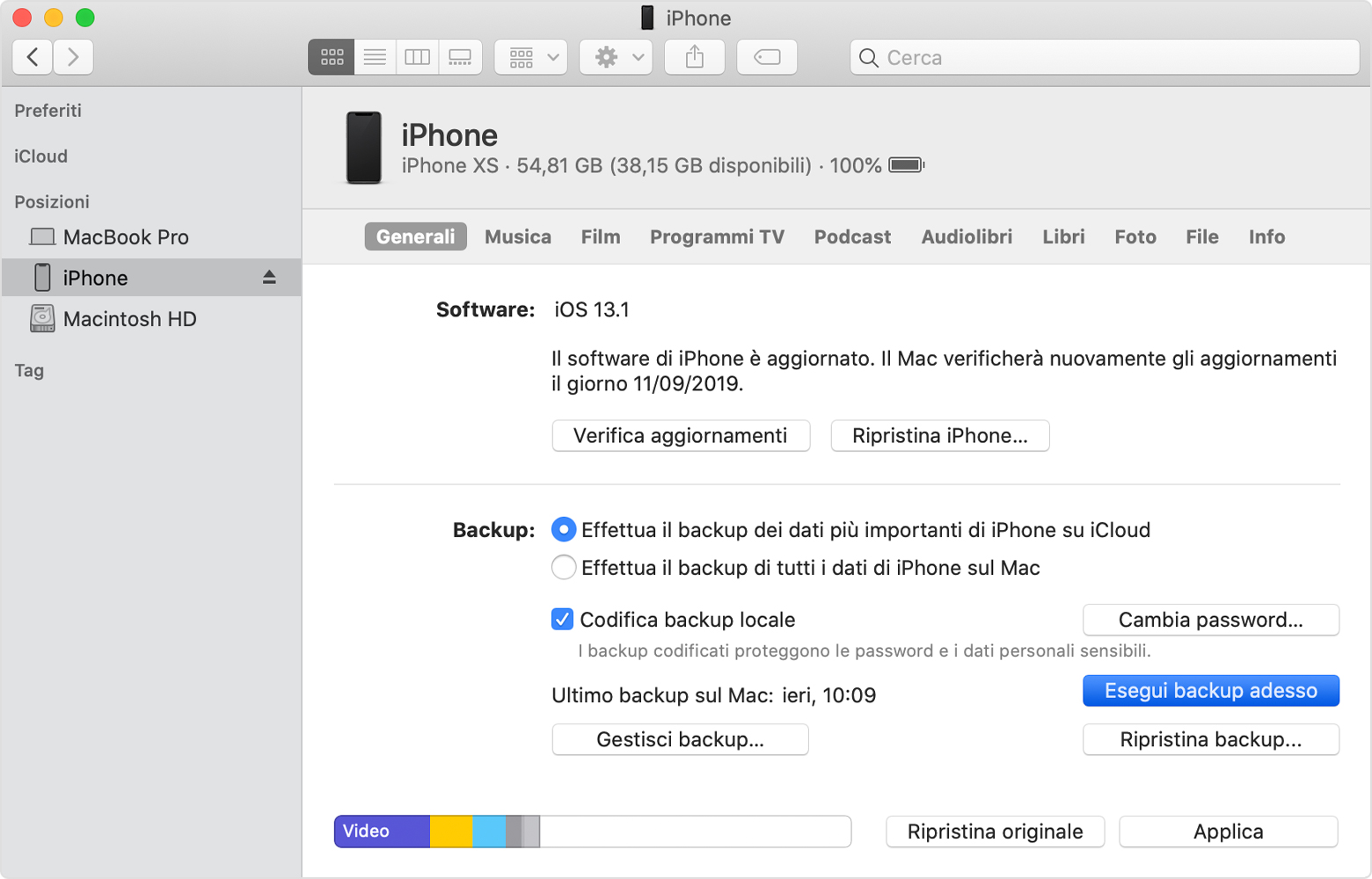 Come eseguire il backup dei dati su iPhone e iPad 1