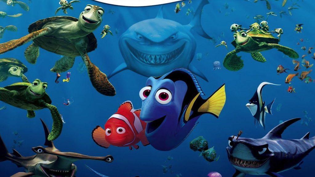 Alla ricerca di Nemo - migliori film di animazione