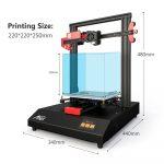Ottima offerta per la stampante 3D Anet E4, spedita dall'Europa 2