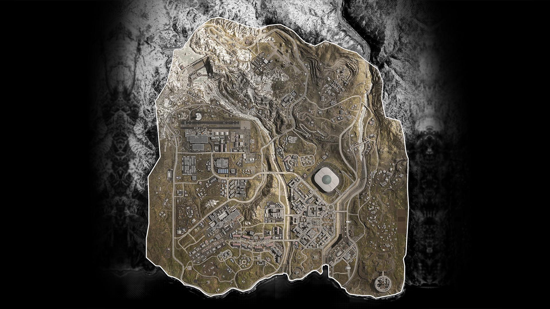 Call of Duty Warzone mappa