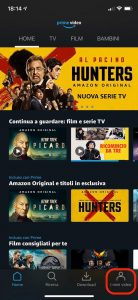 Cancella la cronologia Amazon Prime Video su iOS e Android 4 i Miei video