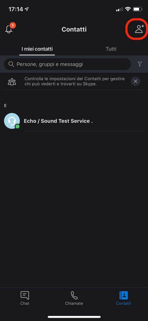 Come aggiungere amici su Skype